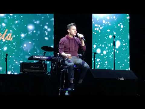 David Archuleta HD 03 WINTER IN THE AIR @ MNL Benefit Concert (16 Nov 2018) Mp3