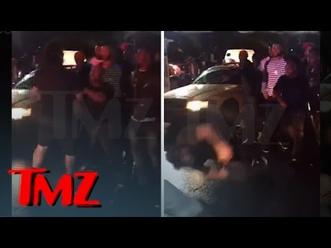 The Game Rival Rapper KNOCKED Out By Game's Manager **New Video**