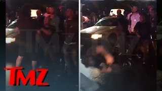 The Game Rival Rapper KNOCKED Out By Game's Manager **New Video** | TMZ