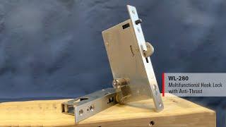 WEIDER - WL-280 Hook Lock with Anti-Thrust