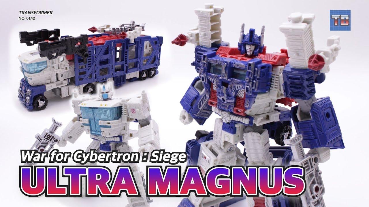 Transformers ~ ULTRA MAGNUS ACTON FIGURE ~ Leader ~ Siege War For Cybertron