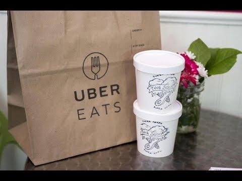 #140.Uber - Uber Eats.Легкий и быстрый заработок!Дает возможность учиться!