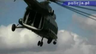 Polska Policja - Policyjni lotnicy i funkcjonariusze BOA doskonalili umiejętności