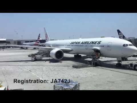 Japan Airlines Business Class SKY SUITE  LAX to NRT Flight Report Boeing777-300 (2016.06.25)