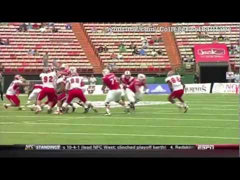 SMU QB Garrett Gilbert vs Fresno State ᴴᴰ