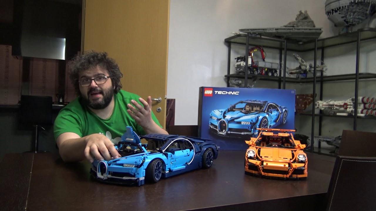 Recensione Lego 42083 Bugatti Chiron Youtube