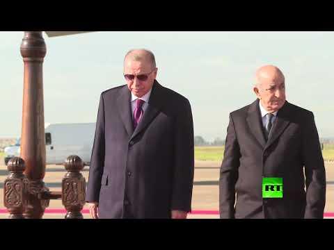 لحظة وصول أردوغان إلى الجزائر  - نشر قبل 4 ساعة