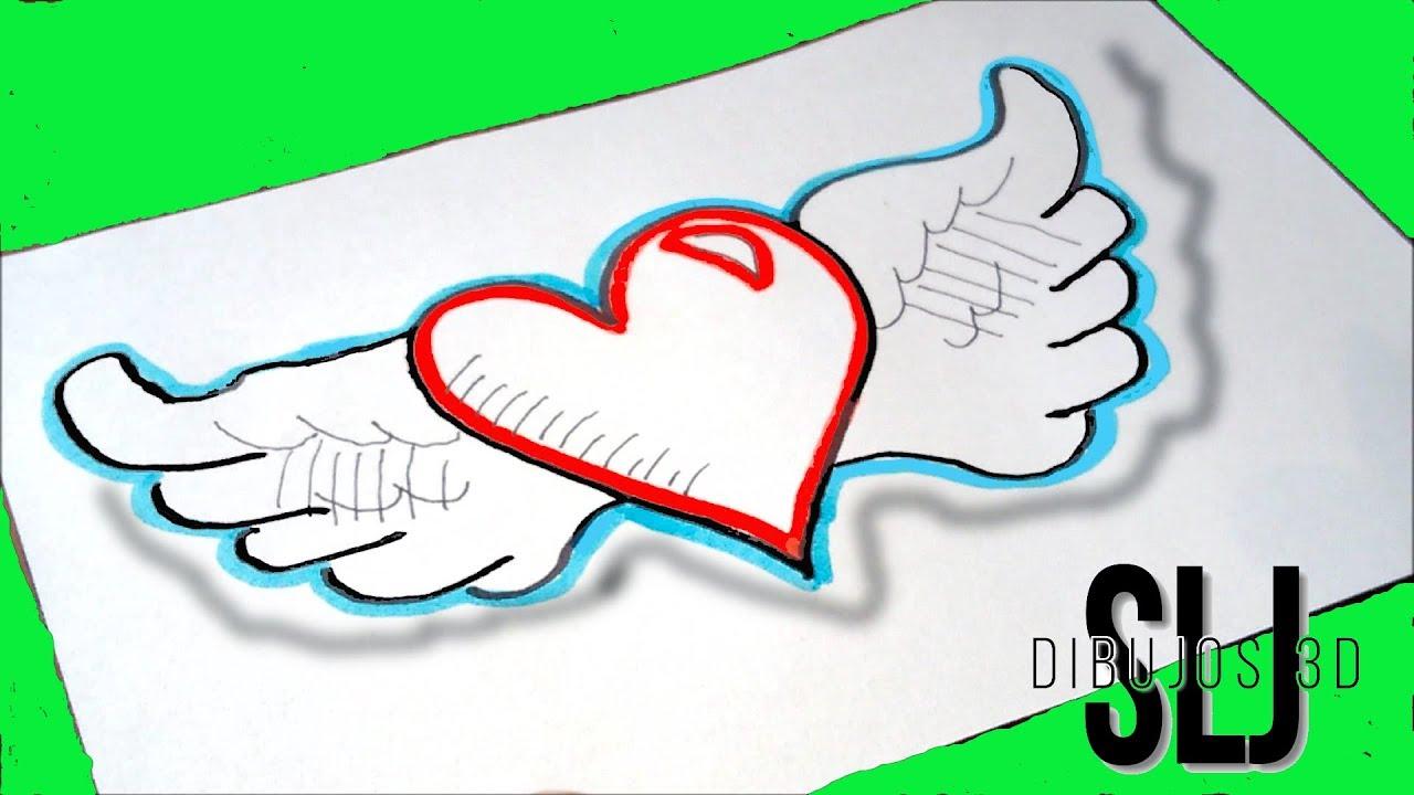 Dibujos De Amor: Como Dibujar Un Corazon Dibujos De Amor Como Desenhar Um