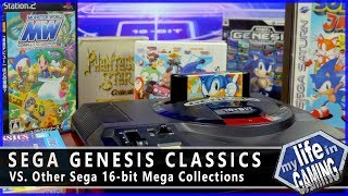 Sega Genesis Classics (XBO) VS. Other Sega Mega Collections / MY LIFE IN GAMING