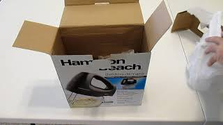 Hamilton Beach Hand Mixer Unbo…