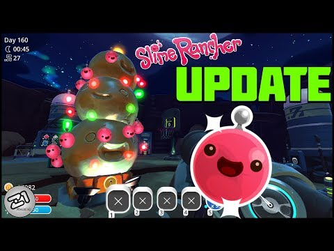 Slime Rancher Wiggly Wonderland Update! Collecting Ornaments! START