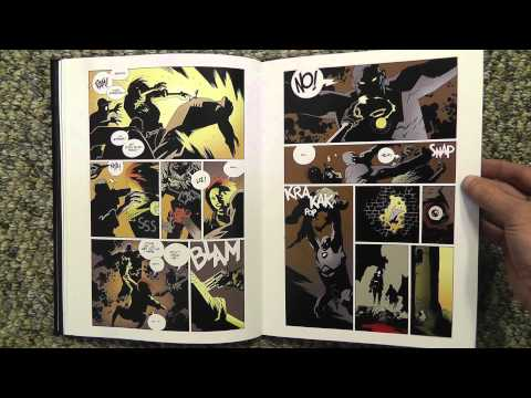 ASMR Page Turning - Hellboy Comic Library Edition Volume 1