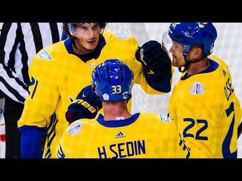 Tribute to Daniel and Henrik Sedins careers - Team Sweden edition