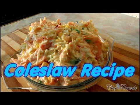 Jamaica Coleslaw Recipe | Recipes By Chef Ricardo