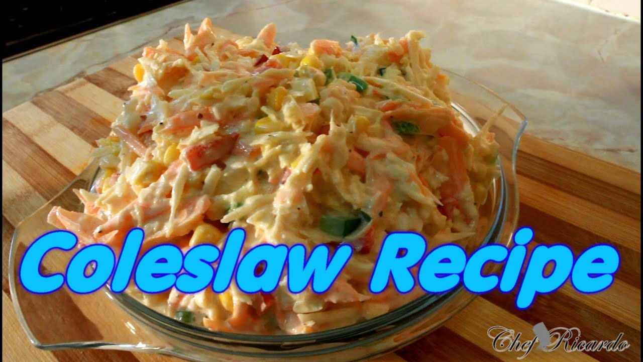 Jamaica coleslaw recipe from chefricardo youtube jamaica coleslaw recipe from chefricardo chef ricardo cooking forumfinder Choice Image