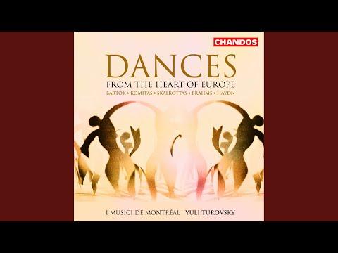 Roman nepi tancok (Romanian Folk Dances) , BB 68 (arr. A. Willner) : Allegro vivace