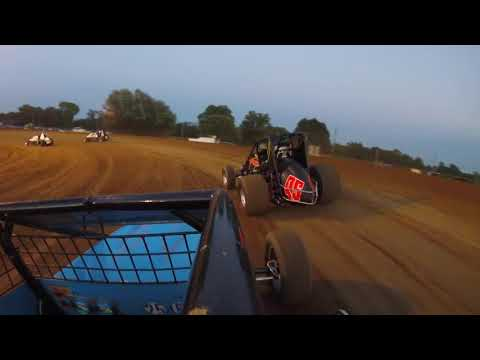 First time running the top at paragon (Sprint Car GoPro)