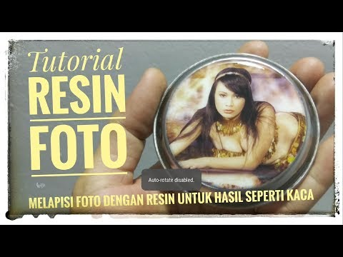 Resin Foto | Tutorial | Resin Bening | Resin Art & Photography