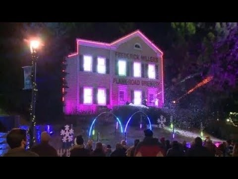 MillerCoors' 'Holiday Lites' lights up Miller Valley - MillerCoors' 'Holiday Lites' Lights Up Miller Valley - YouTube