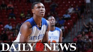 Knicks player Cleanthony Early shot in overnight attack near Queens strip club