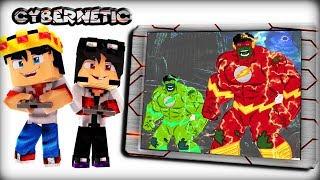 Minecraft Cybernetic - JOGO DO HULK VELOCISTA ( The Hulk Flash )