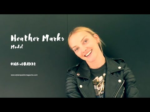 Q&A with Top Model Heather Marks