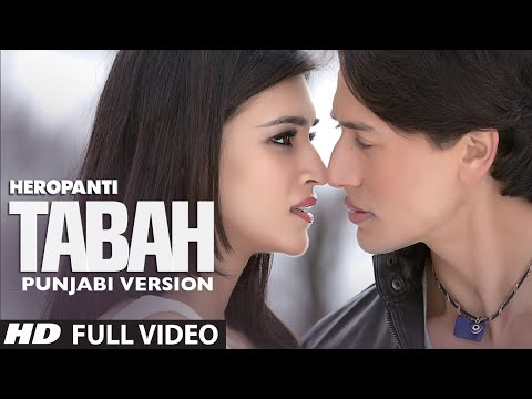 Heropanti: Tabah Video Song | Punjabi Version by Aman Trikha | Tiger Shroff | Kriti Sanon