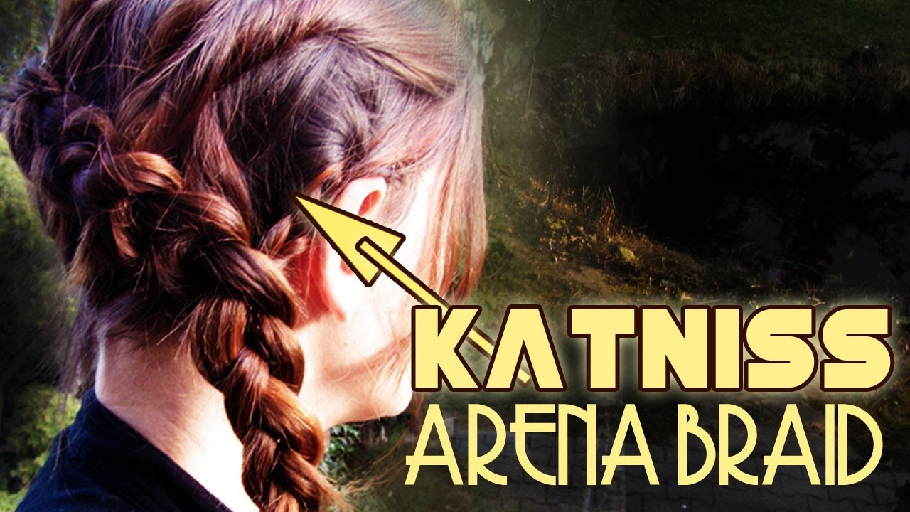 Katniss Arena Braid Hunger Games Tutorial Youtube