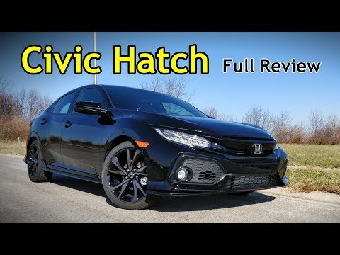 2018 Honda Civic Hatchback: Full Review | Sport Touring, EX-L, EX, Sport & LX