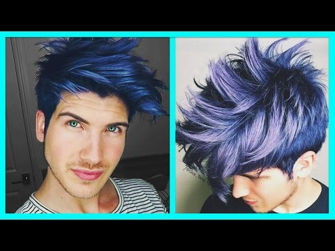 DYING MY HAIR BLUE! from YouTube · Duration:  12 minutes 7 seconds