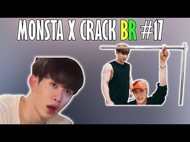 MONSTA X CRACK BR #17: WONHO NO MUNDO DA LUA E MINHYUK TROLLADOR