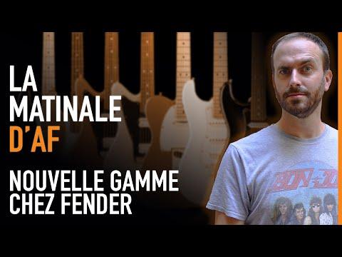 Fender montre ses Player Plus + Gagnez un micro Audio-Technica - La Matinale d'AF #44