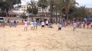 Magaluf Beach Rugby 2013
