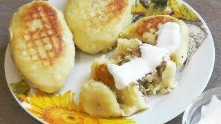 Картофельные зразы с тофу (картопляники, крокеты) - рецепт для лакто-ово-вегетарианцев