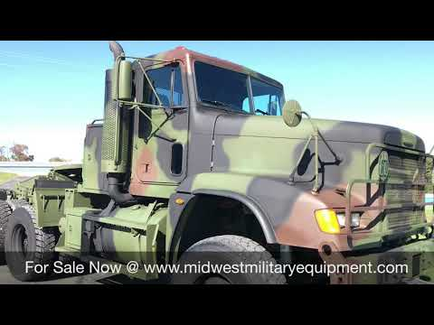 2008 M916a3 Freightliner 6x6 Military Semi Truck Tractor For Sale Midwest Military Equipment