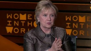 Hillary Clinton speaks out on Syria