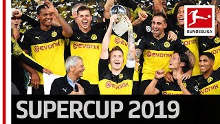 Borussia Dortmund Trophy Lifting - 2019 Supercup Winners
