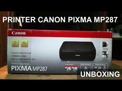 Canon Pixma MP287 Unboxing + Instalasi