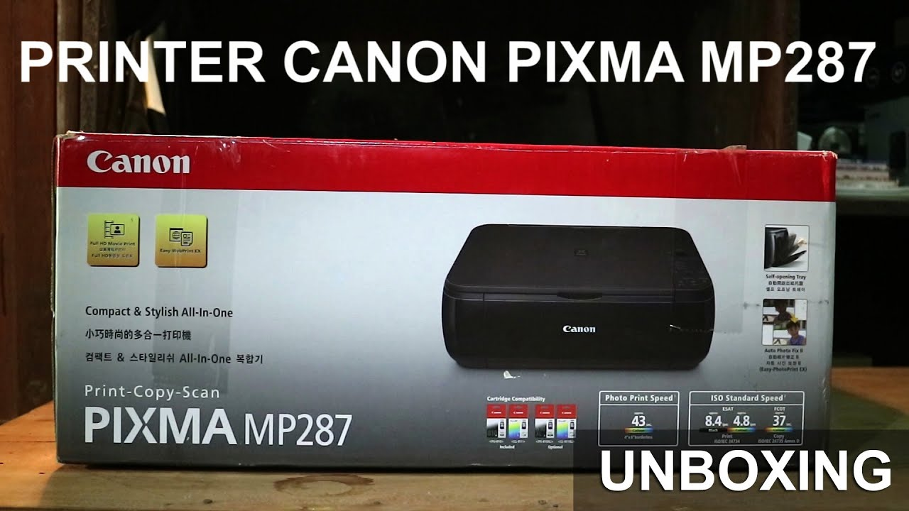 Download Scanner Canon Mp287