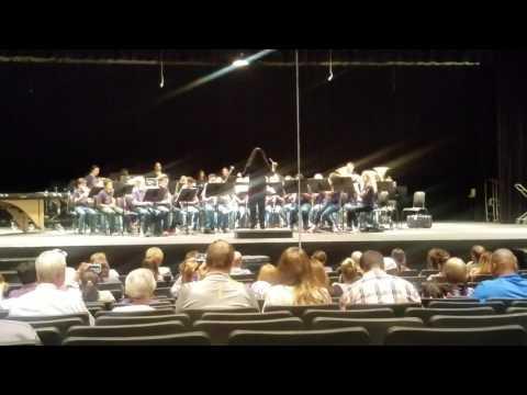 Rawlinson Middle School band- Armory