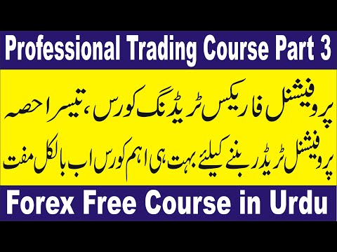 Professional Forex trading course Part 3 | Tani FX courses in Hindi and Urdu