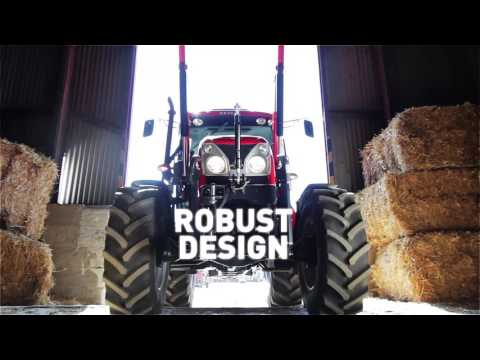 Loader and dual chop straw blower | Zetor Proxima Power 120 and Zetor Major 80