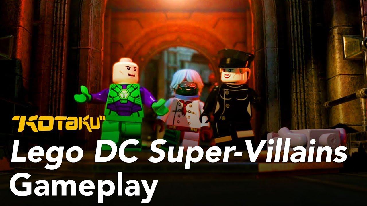 Lego DC Super-Villains Gameplay E3 2018