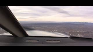 Piper Archer III flying into Phoenix Sky Harbor Airport PHX with ATC and Comms