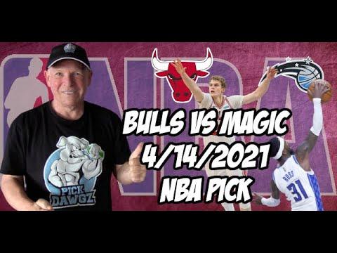 Chicago Bulls vs Orlando Magic 4/14/21 Free NBA Pick and Prediction NBA Betting Tips