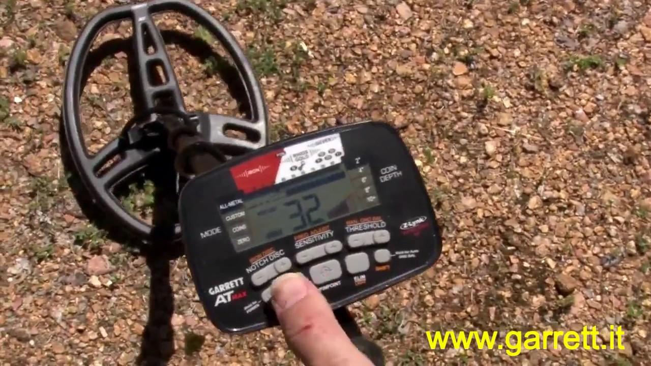 ef28ab37dc9 Metal Detector Garrett AT Max - www.garrett.it - YouTube