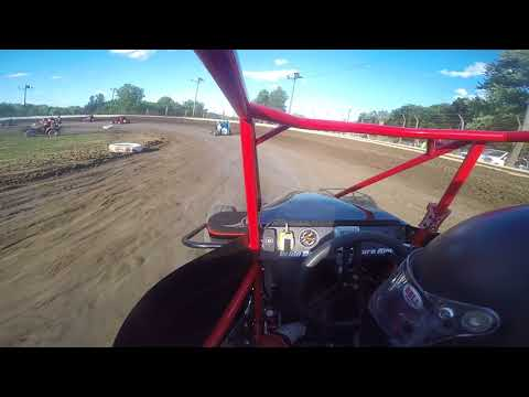2017 Big Dance Heat race US 24 speedway  RAW GoPro file no edits