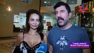"""""""Yanlış anlama"""" filminin Gəncədə Qala gecəsi - Pervin Abıyeva, Pelin Sonmez"""