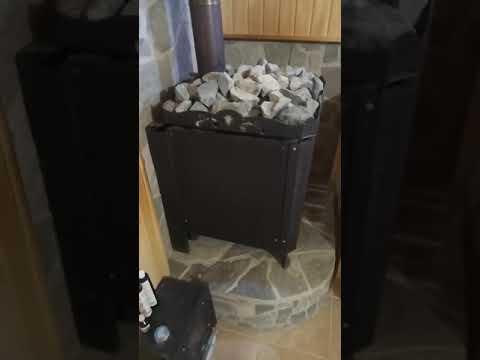 Баня на газу. Туймазинская печь и ггу - 40.