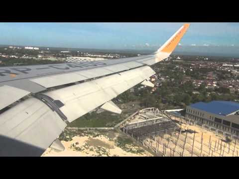 Landing Mactan Cebu International Airport Cebu Pacific A320